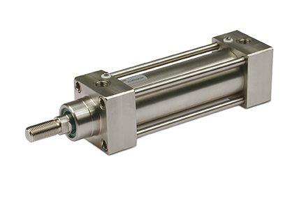 ISO 15552 stainless steel cylinders, diameters from 32 to 125 mm